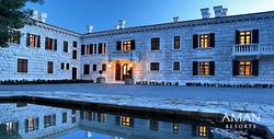 Aman Sveti Stefan's Villa Milocer, Montenegro