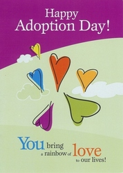 Happy adoption day card selection expands at adoptioncardshop adoption day card from the adoption card shop m4hsunfo