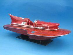 Ferrari remote control speedboat