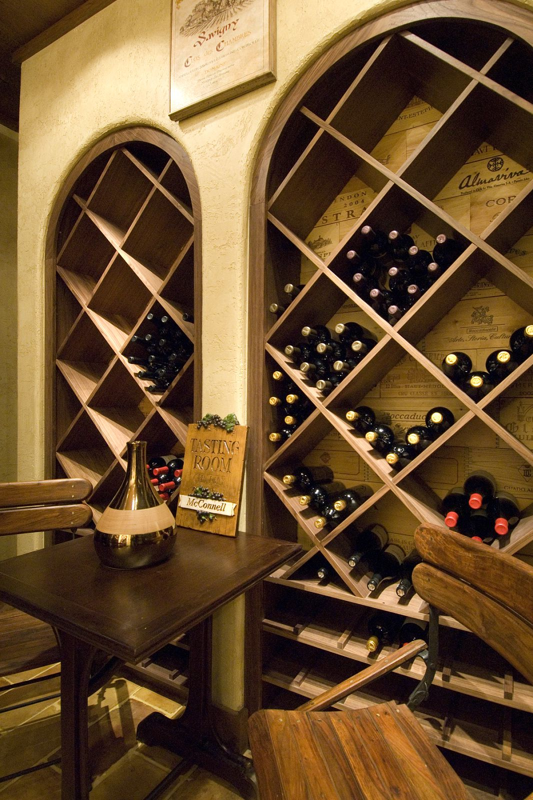 Interior Designer Adapts 18th Century French Wine Shop