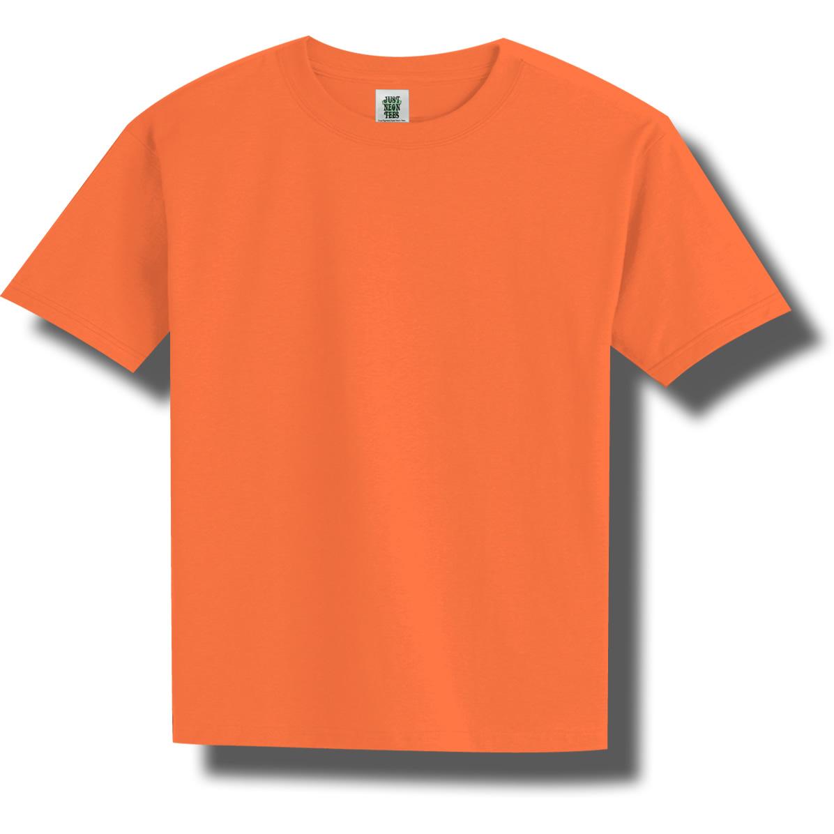 Women s yellow neon t shirt youth neon orange t shirt