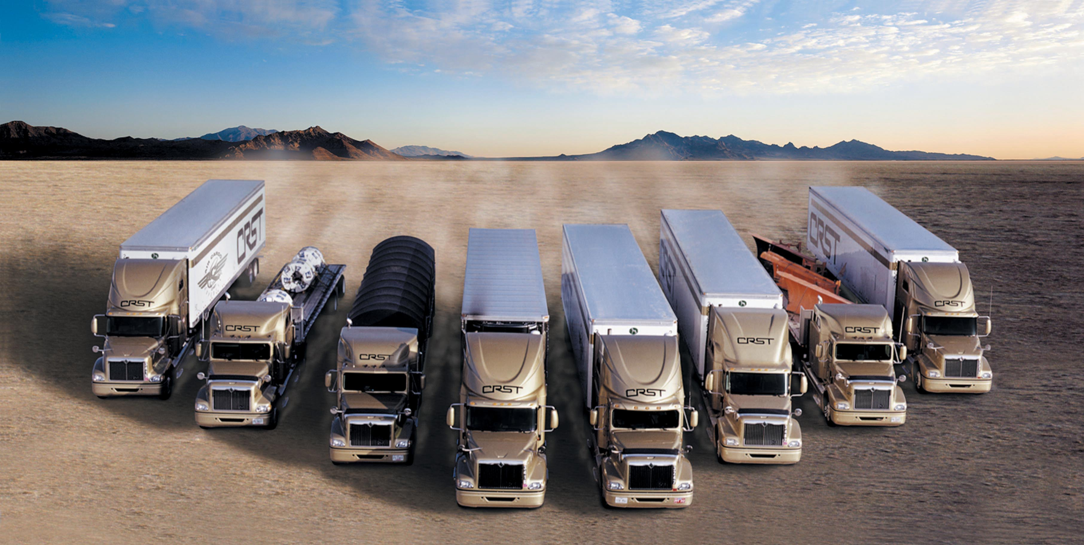 CRST Poised for Rapid Growth as Industry Truck Capacity Shrinks and