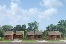Mississippi's first solar powered affordable housing project breaks ground.