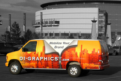 DI Graphics award winning vehicle wraps really stand out from the crowd.