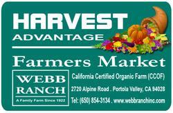 Webb Ranch Harvest Advantage Card
