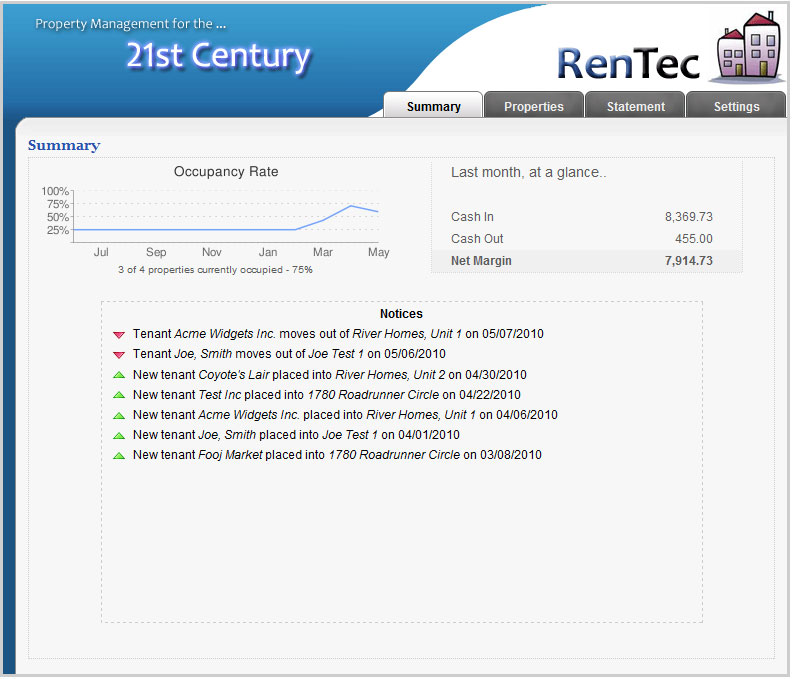 Rentec direct launches exclusive web based property management software solutions for property - Portal entree ownership ...