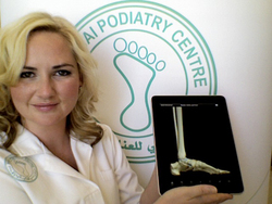 technology medical iPad podiatry innovation imaging