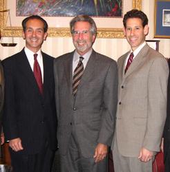 Partner Joseph Cammarata, Partner Ira Sherman, and Partner Allan Siegel