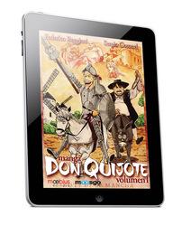 El Quijote de la Mancha en version comic para el iPad