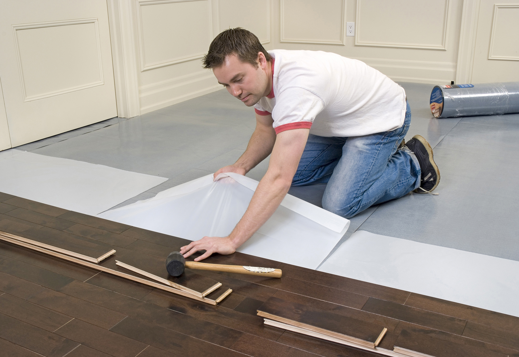 Elastilon revolutionizes hardwood floor installation for Flooring installation