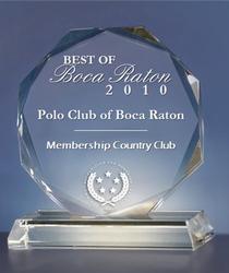 Boca Raton Country Club Award