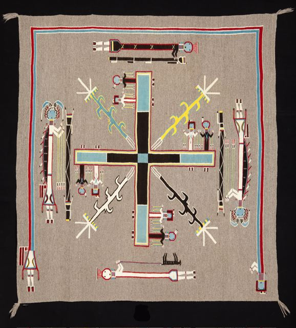 Smithsonian World Map Rug: The Harwood Museum Of Art In Taos, New Mexico Offers Four