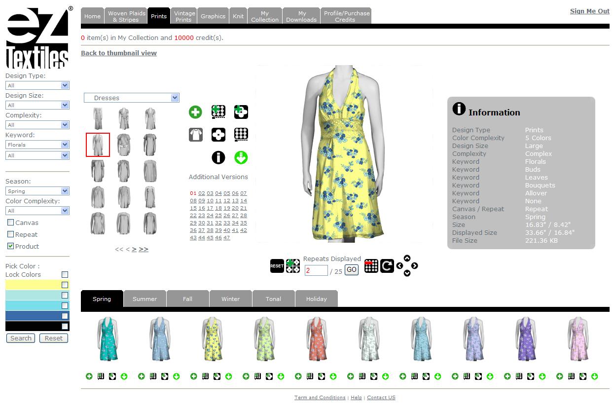 EzTextiles Launches World's Largest Online Resource of Production ...