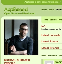 Appleseed css/html5 theming