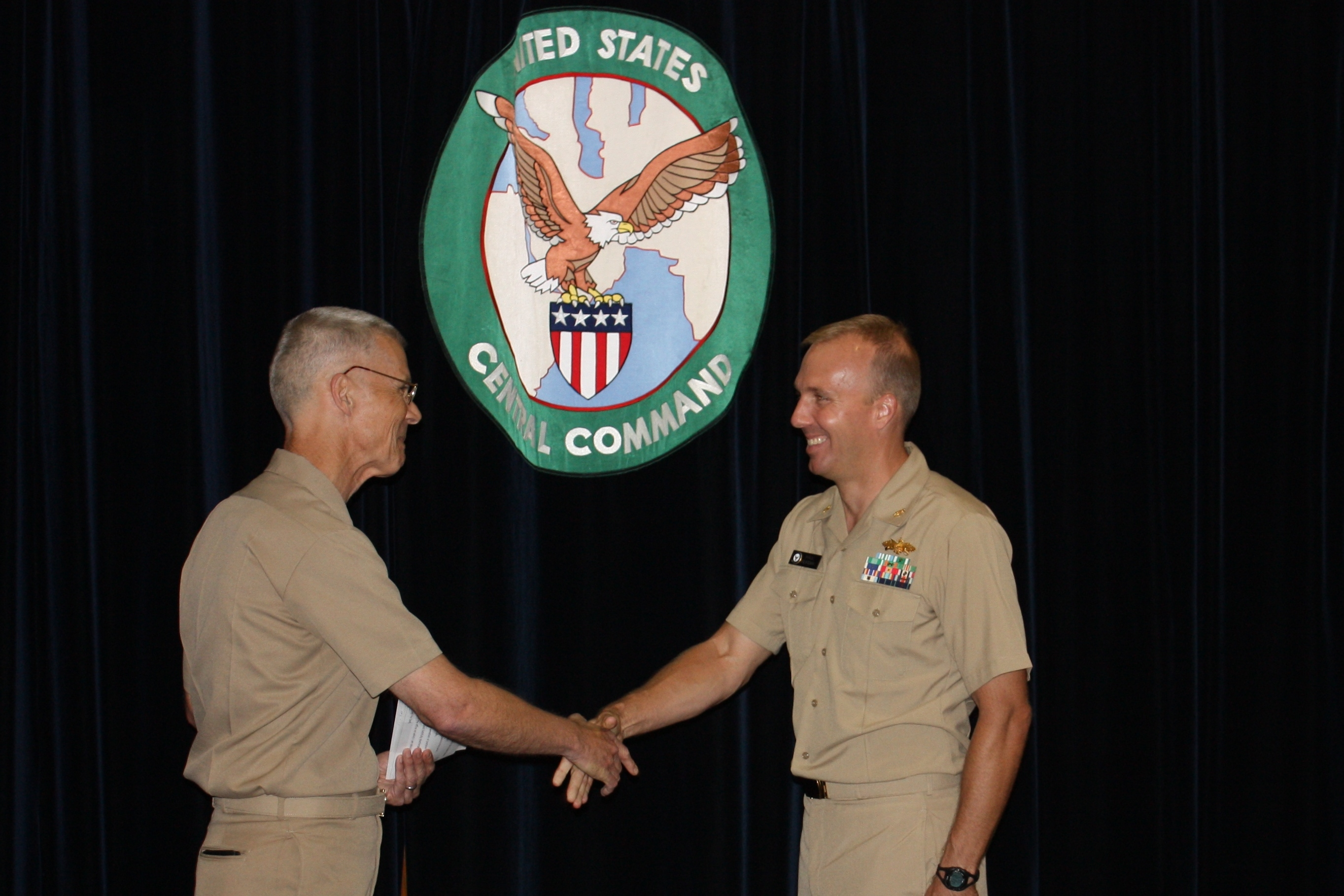 Operations Director Promoted To Navy Commander