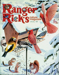 The first-ever cover of Ranger Rick, from January 1967