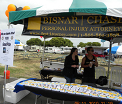 BISNAR | CHASE Personal Injury Attorneys Support Kristie's Foundation BBQ