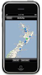 Navman Wireless iPhone Application