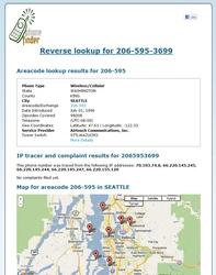 Free full reverse phone report
