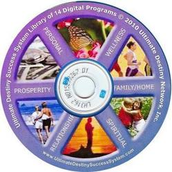 The Complete Ultimate Destiny Success System Library on a CD-ROM is A  Comprehensive University for Successful Living.