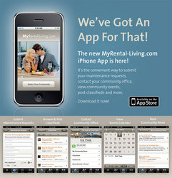 irvine company apartment communities launches iphone app