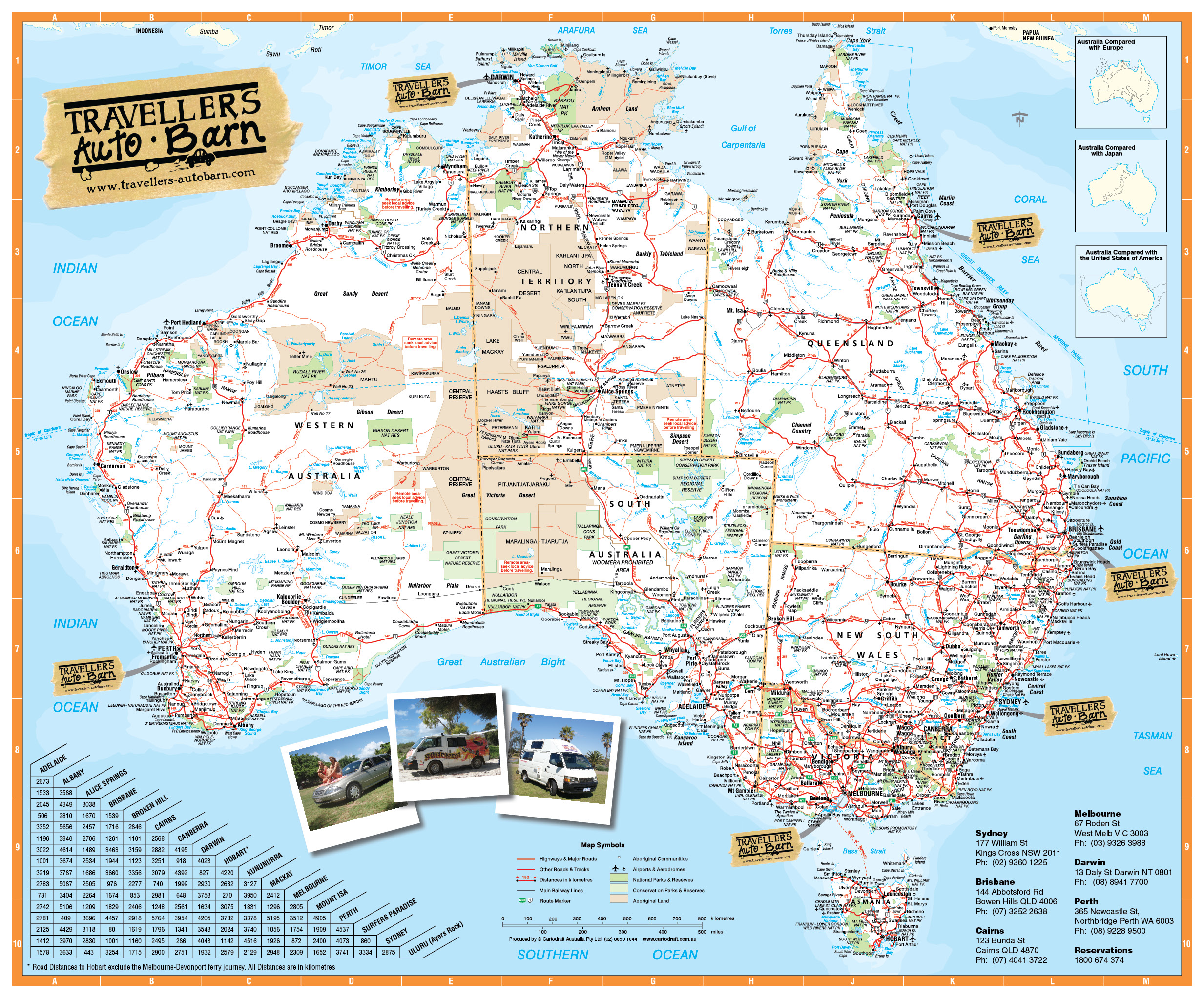 travellers auto barn honoured with asia pacific regional award - australia map