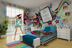 Attention Funky Theme Enthusiasts VisionBedding Announces Customizable Funky