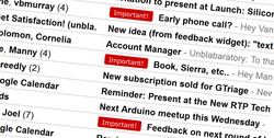 "Gtriage automatically adds ""Important!"" Gmail labels"