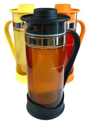 Steep & Chill, gourmet iced tea maker with large volume infuser & ice freezer core