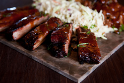 Bounty Hunter's delicious St. Louis Cut Ribs