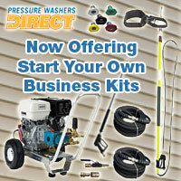 Pressure Washers Direct Adds Pressure Pro Start Your Own