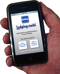 Lodging.mobi iPhone app for hotels