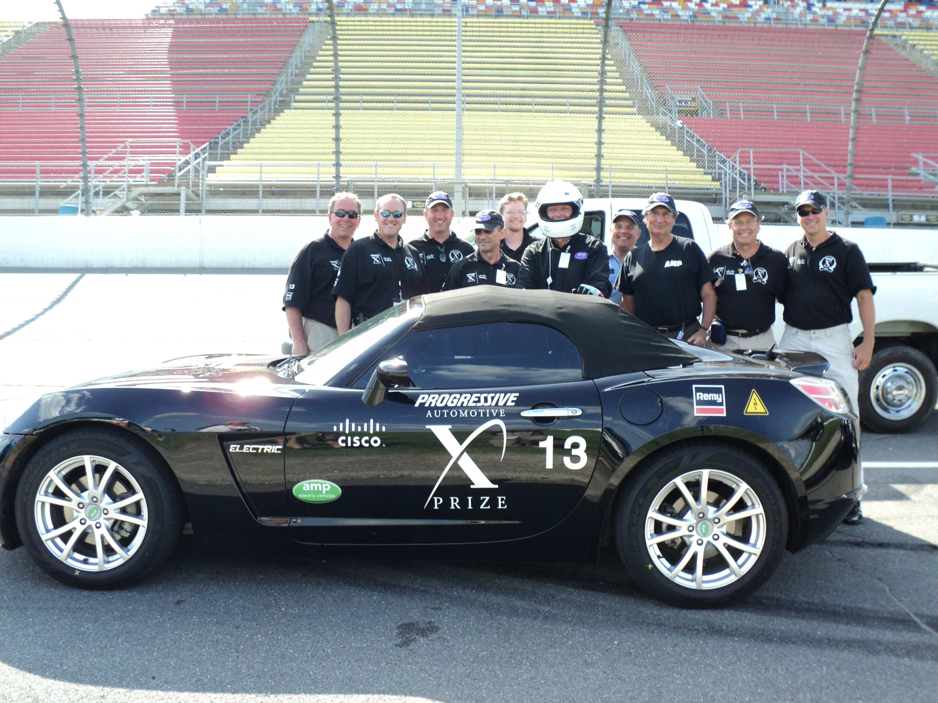 GM Saturn Sky and AMP Team