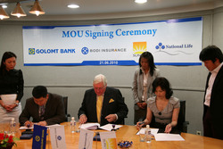 Mongolian National Life Insurance LLC Teams up with Golomt Bank to ...