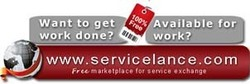 ServiceLance is free for Service Seekers and Service Providers