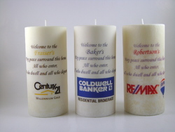 Real Estate Housewarming Gifts, scented candles