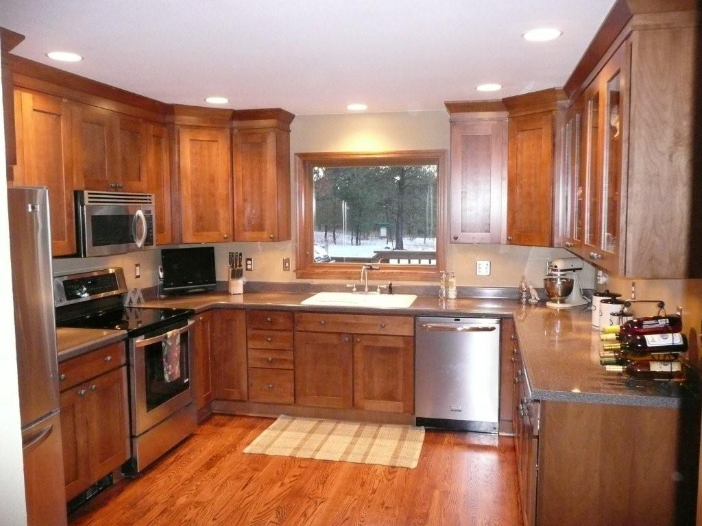 39 project of the month 39 award goes to russ and pam rysavy for Birch wood kitchen cabinets
