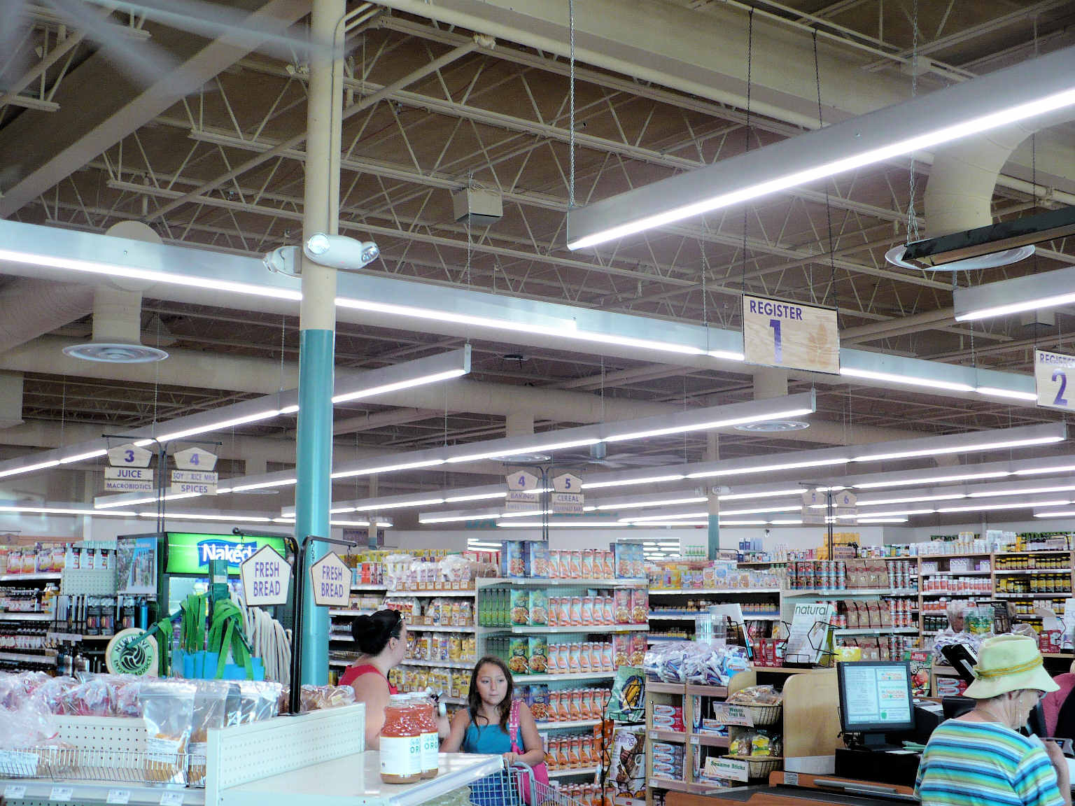 Albeo S C Series Led Lighting Chosen For Natural Grocers