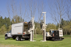 Cascade Drilling uses the full line of GeoProbe equipment