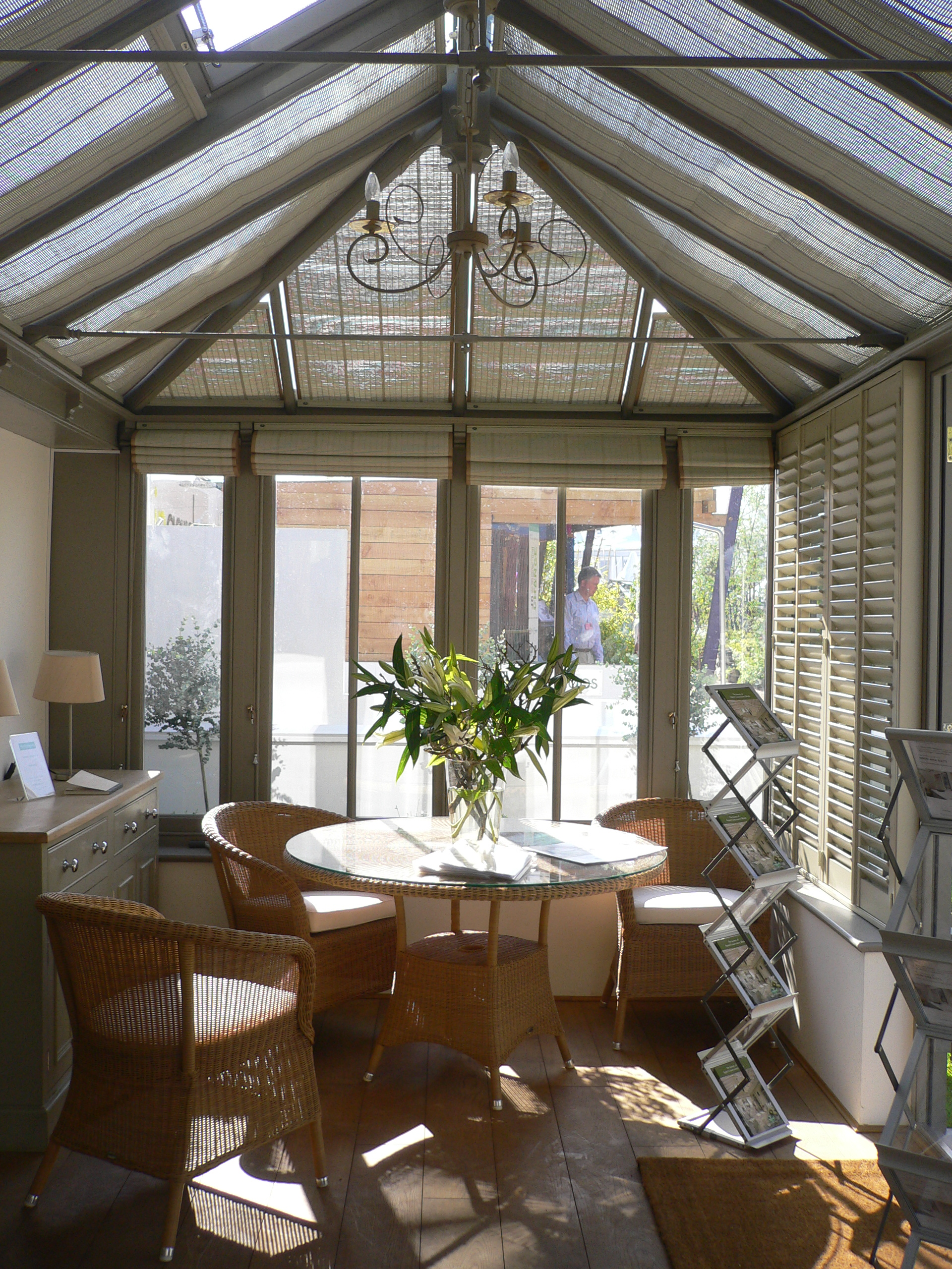 ... Palace Interior Blinds By Appeal Conservatory Blinds Exhibiting At The  Hton Court ...