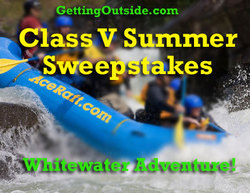 Class-V Whitewater Rafting Outdoor Adventure Sweepstakes