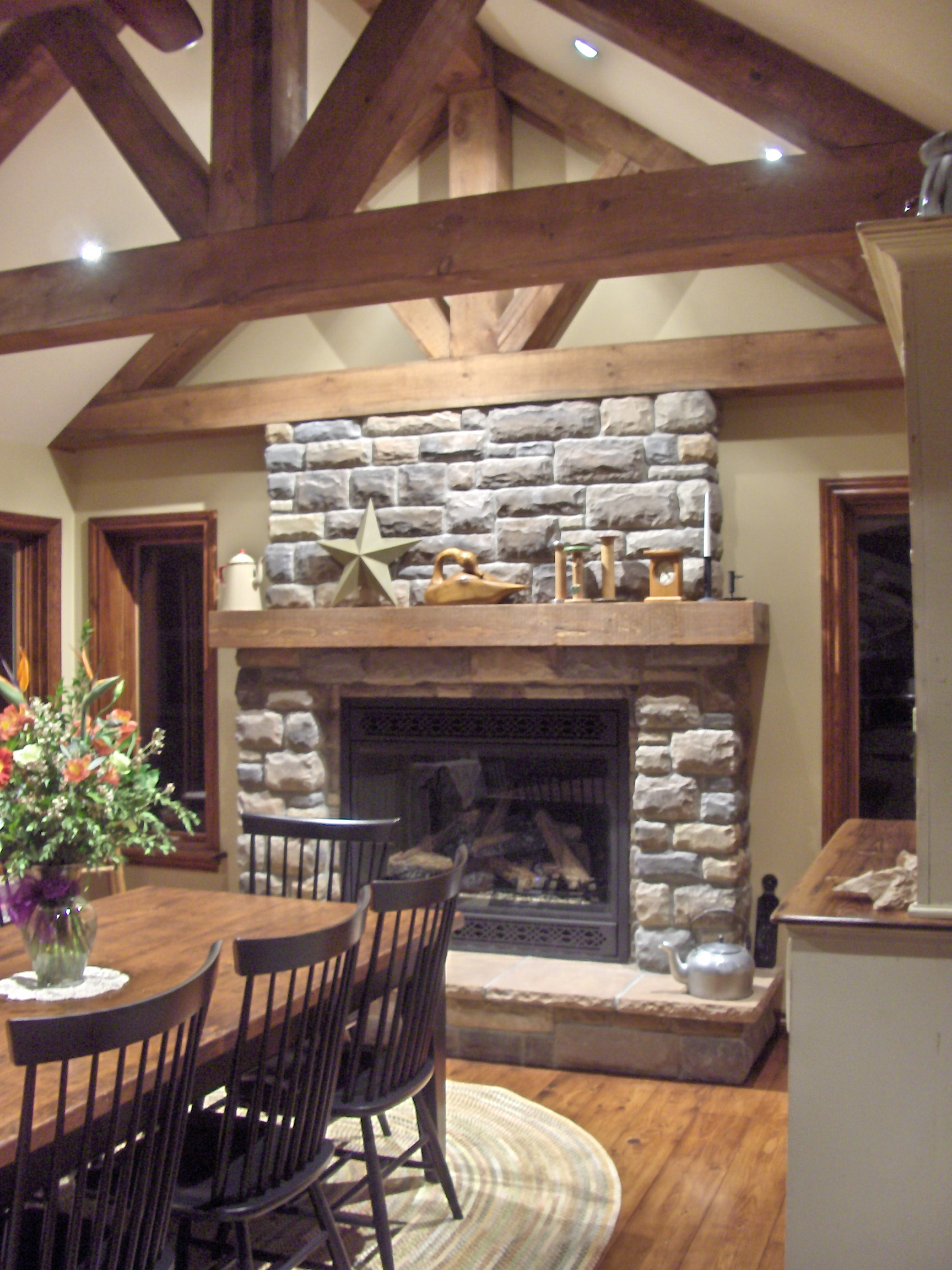 Stone Selex of Toronto presents interior stone fireplace designs ...