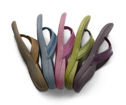 Tide orthotic flip flops