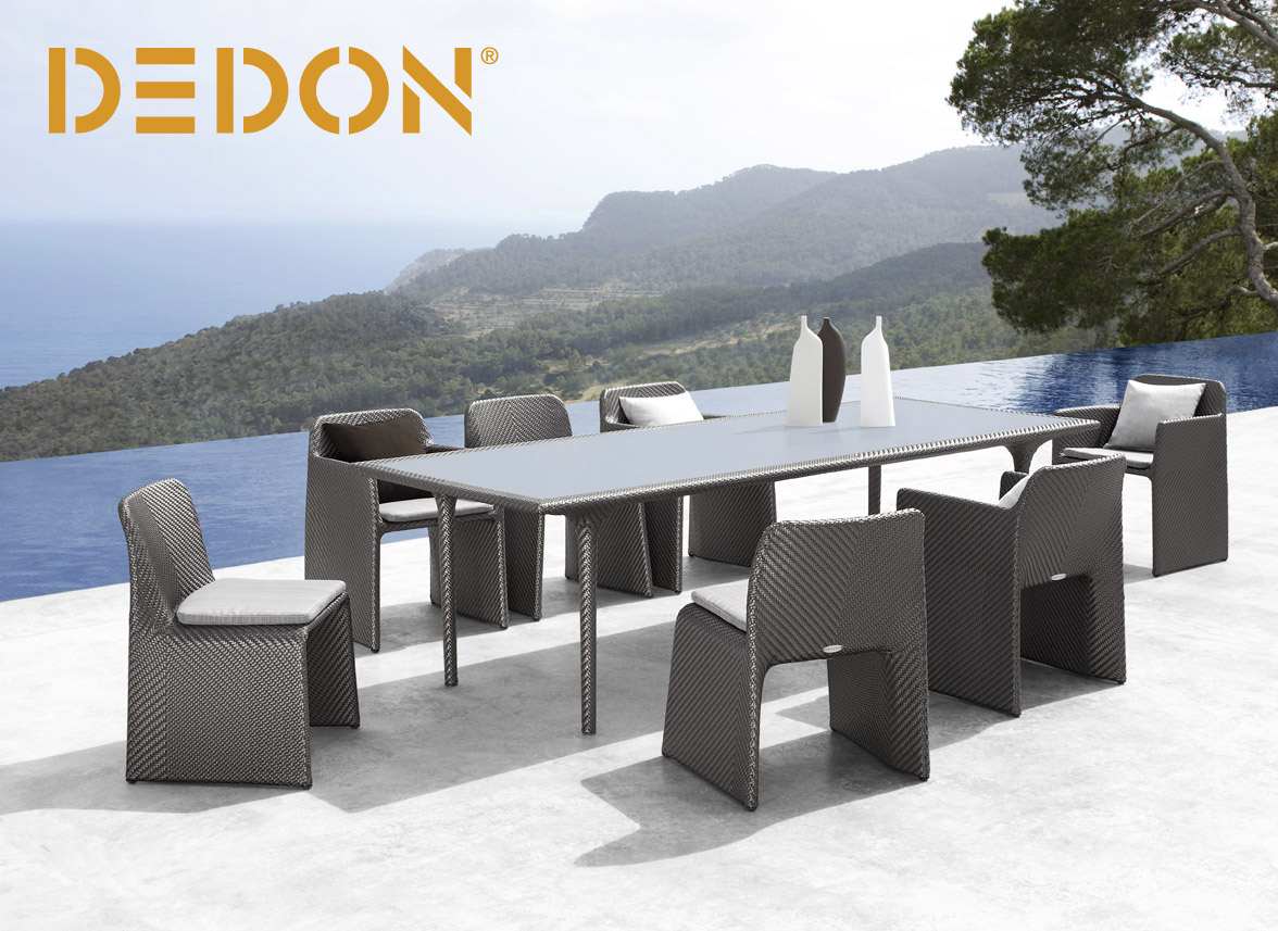 Studio b creates luxury outdoor living spaces far beyond for Dedon outdoor furniture