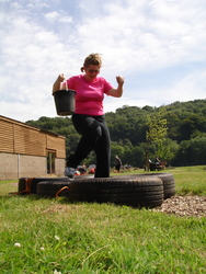 exercise at the fitfarms devon boot camp