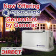 Electric Generators Direct Now Selling Centurion Generators