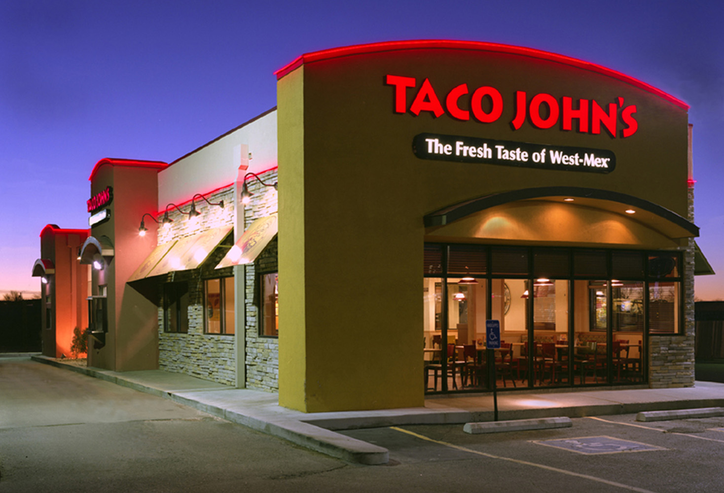 Join us and you will receive: Use of the Taco John's brand name, systems, logo and store design. A comprehensive four or five week Taco John's Management Training.