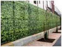 privacy fence fabric-hedge
