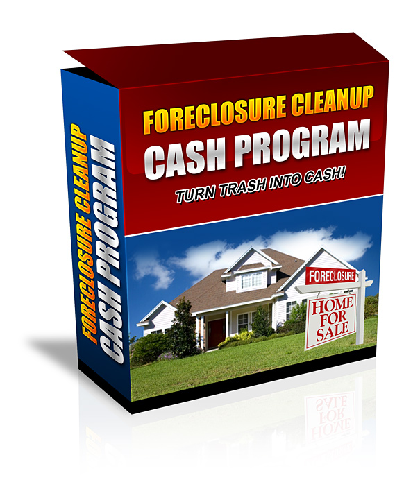 how to clean out foreclosed homes