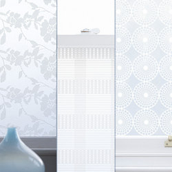 Decorative Window Film designs by Emma Jeffs are available at 2jane.com